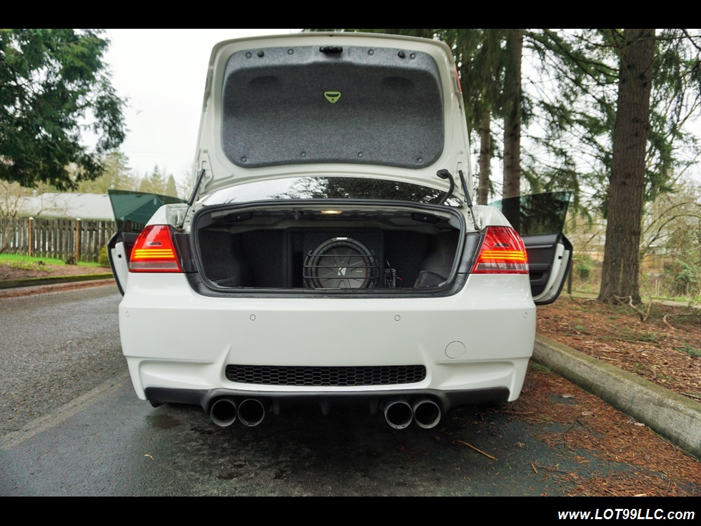 2008 BMW M3 Coupe Alpine White Lowered 19 Wheels Exhaust Tuned - Photo 29 - Milwaukie, OR 97267