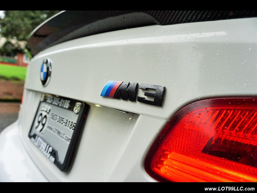 2008 BMW M3 Coupe Alpine White Lowered 19 Wheels Exhaust Tuned - Photo 31 - Milwaukie, OR 97267
