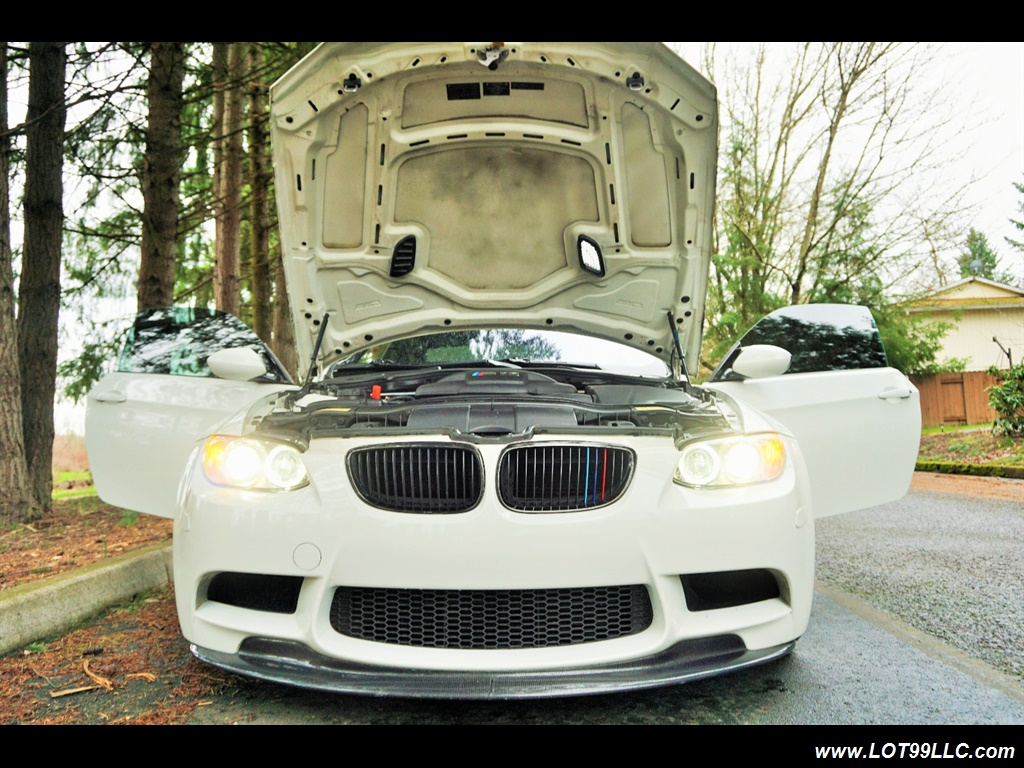 2008 BMW M3 Coupe Alpine White Lowered 19 Wheels Exhaust Tuned - Photo 27 - Milwaukie, OR 97267
