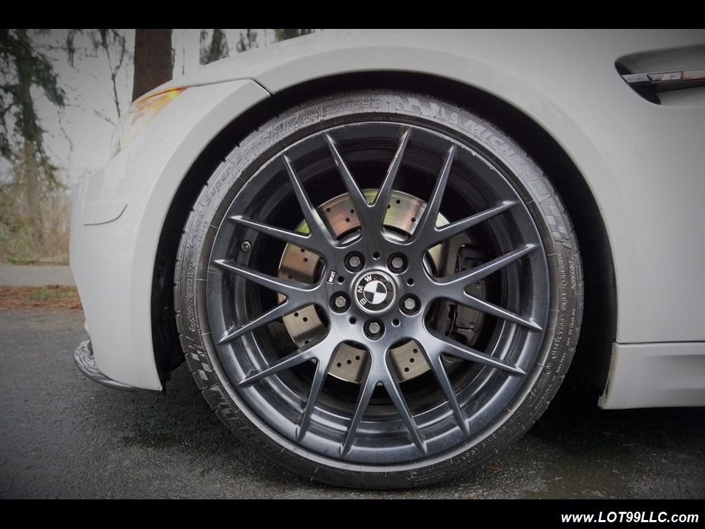 2008 BMW M3 Coupe Alpine White Lowered 19 Wheels Exhaust Tuned - Photo 43 - Milwaukie, OR 97267