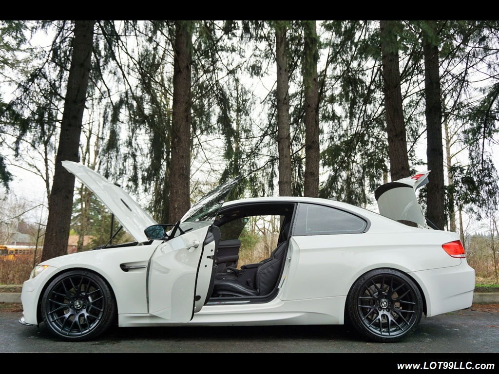 2008 BMW M3 Coupe Alpine White Lowered 19 Wheels Exhaust Tuned - Photo 26 - Milwaukie, OR 97267