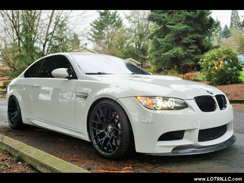 2008 BMW M3 Coupe Alpine White Lowered 19 Wheels Exhaust Tuned - Photo 4 - Milwaukie, OR 97267