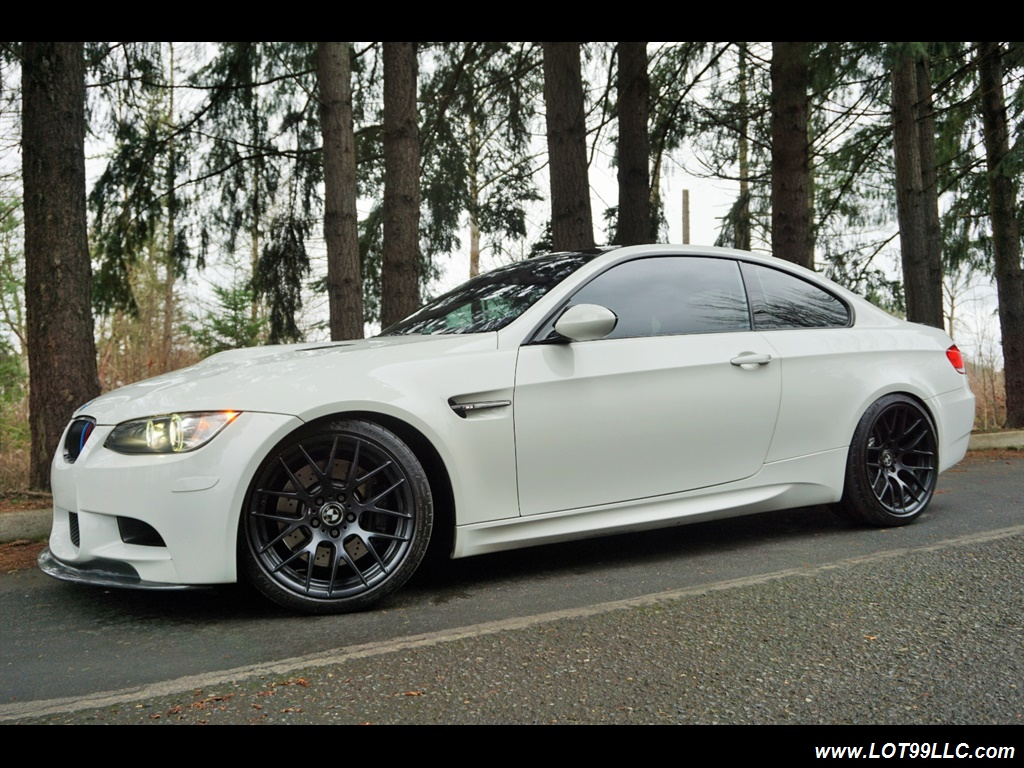 2008 BMW M3 Coupe Alpine White Lowered 19 Wheels Exhaust Tuned - Photo 2 - Milwaukie, OR 97267