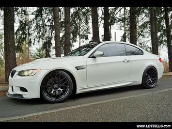 2008 BMW M3 Coupe Alpine White Lowered 19 Wheels Exhaust Tuned Coupe