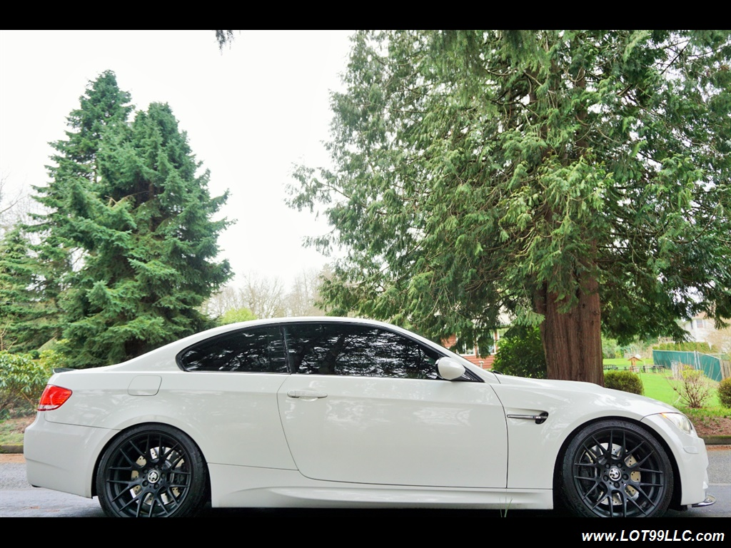 2008 BMW M3 Coupe Alpine White Lowered 19 Wheels Exhaust Tuned - Photo 5 - Milwaukie, OR 97267