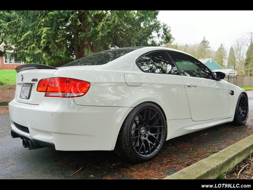 2008 BMW M3 Coupe Alpine White Lowered 19 Wheels Exhaust Tuned - Photo 6 - Milwaukie, OR 97267