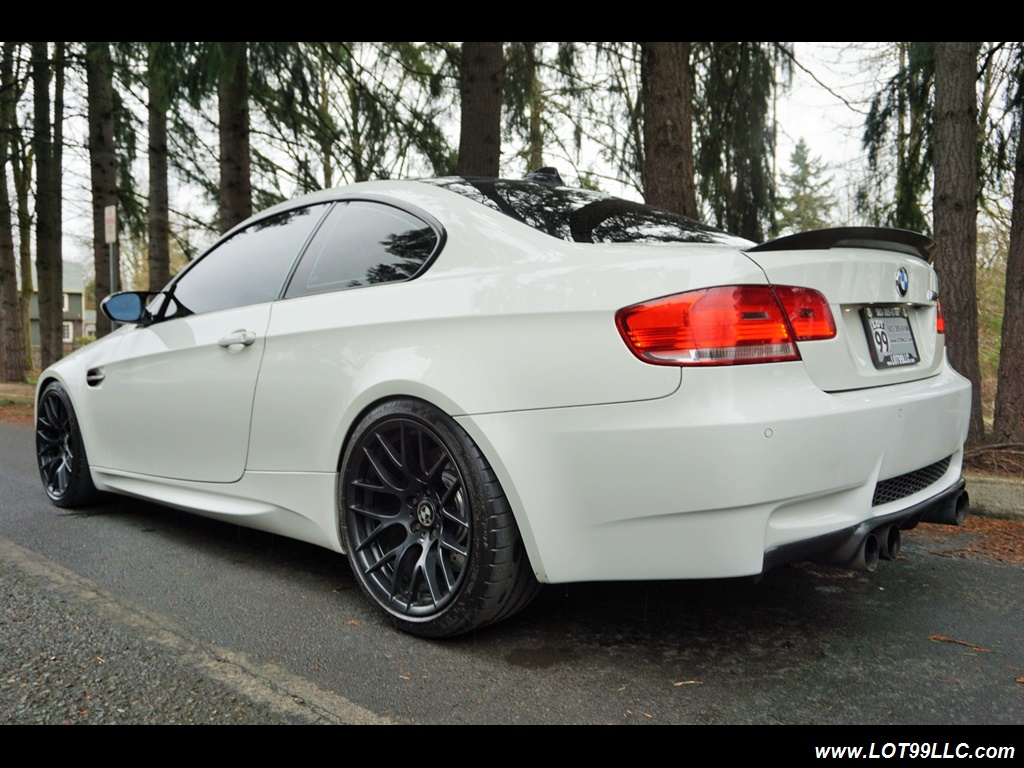 2008 BMW M3 Coupe Alpine White Lowered 19 Wheels Exhaust Tuned - Photo 8 - Milwaukie, OR 97267