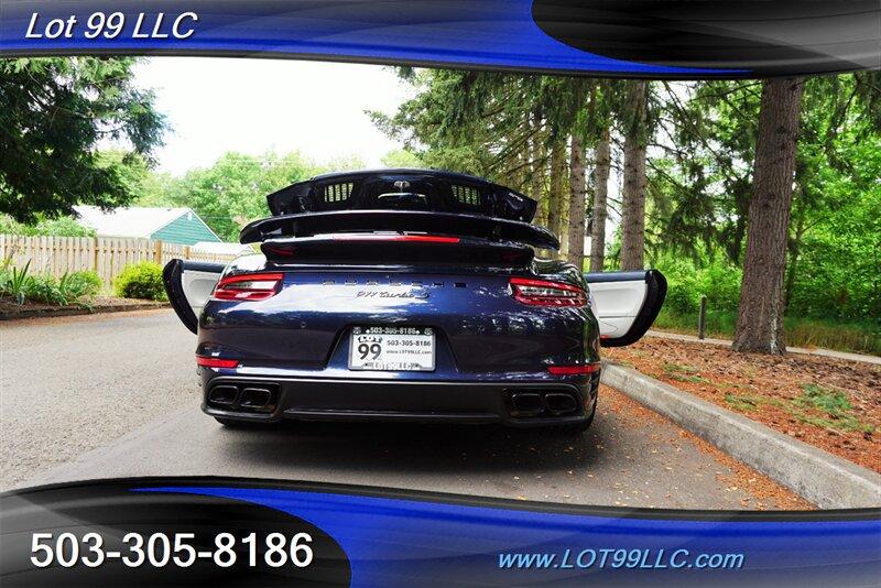2018 Porsche 911 Turbo S 1 OWNER 10K GPS Leathe photo