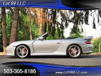2001 Porsche 911 Carrera Convertible TECHART Wide Body Navi 19