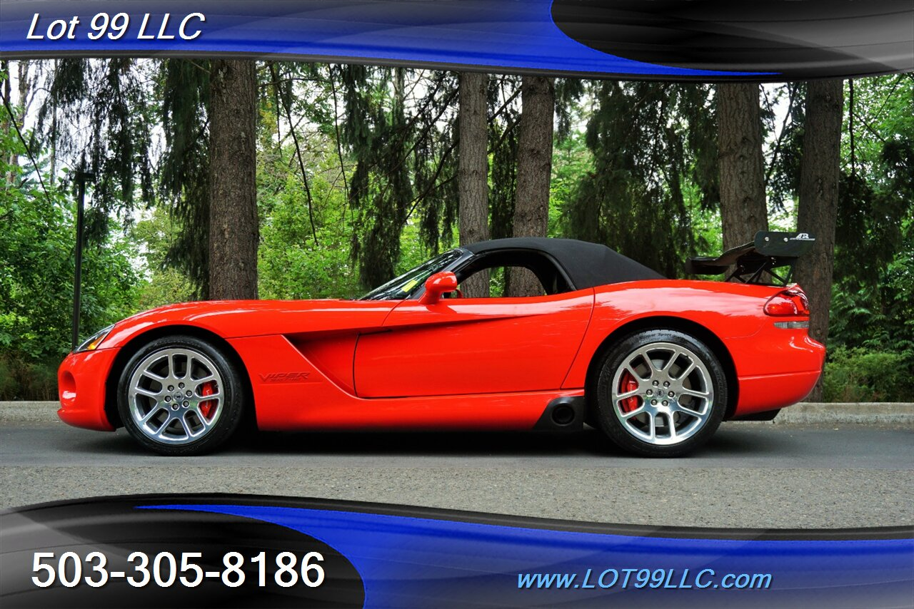 2004 Dodge Viper Srt 10 Convertible 6 Speed Manual Only 21k Miles Ebay