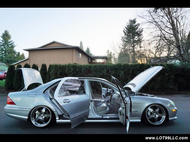 2005 Mercedes-Benz S600 Twin Turbo 117K VIP STYLE CARS. - Photo 39 - Milwaukie, OR 97267