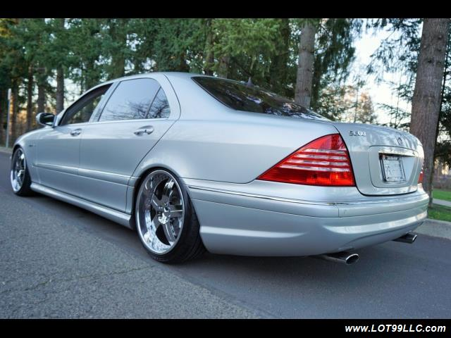 2005 Mercedes-Benz S600 Twin Turbo 117K VIP STYLE CARS. - Photo 8 - Milwaukie, OR 97267