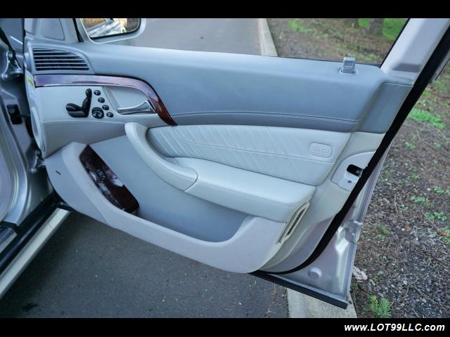 2005 Mercedes-Benz S600 Twin Turbo 117K VIP STYLE CARS. - Photo 18 - Milwaukie, OR 97267