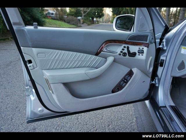 2005 Mercedes-Benz S600 Twin Turbo 117K VIP STYLE CARS. - Photo 9 - Milwaukie, OR 97267