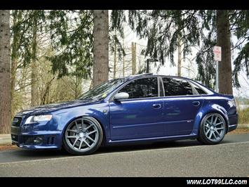 2007 Audi RS 4 Lowered ROTIFORM Wheels Custom Exhaust Loaded Sedan
