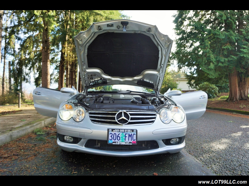 2005 Mercedes-Benz SL 500 Hard Top Convertible 61K Mint - Photo 36 - Milwaukie, OR 97267