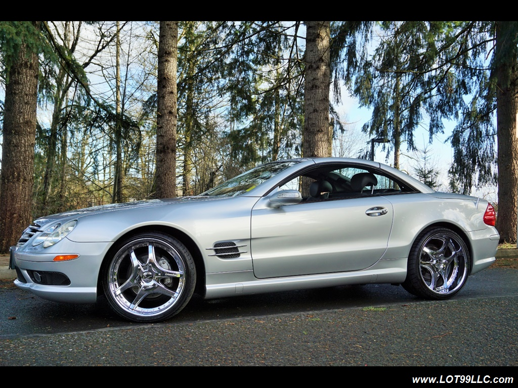 2005 Mercedes-Benz SL 500 Hard Top Convertible 61K Mint - Photo 26 - Milwaukie, OR 97267