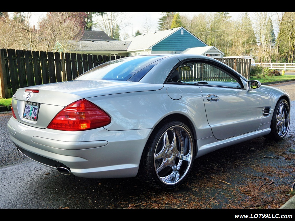2005 Mercedes-Benz SL 500 Hard Top Convertible 61K Mint - Photo 6 - Milwaukie, OR 97267