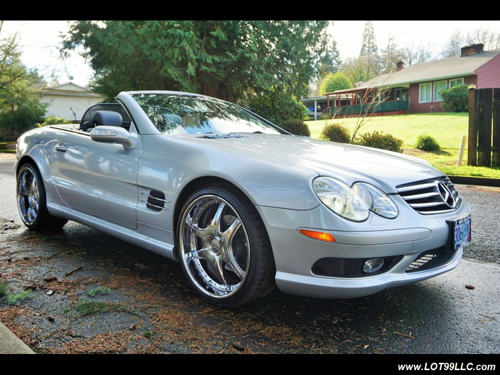 2005 Mercedes-Benz SL 500 Hard Top Convertible 61K Mint - Photo 28 - Milwaukie, OR 97267