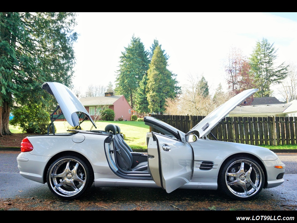 2005 Mercedes-Benz SL 500 Hard Top Convertible 61K Mint - Photo 37 - Milwaukie, OR 97267