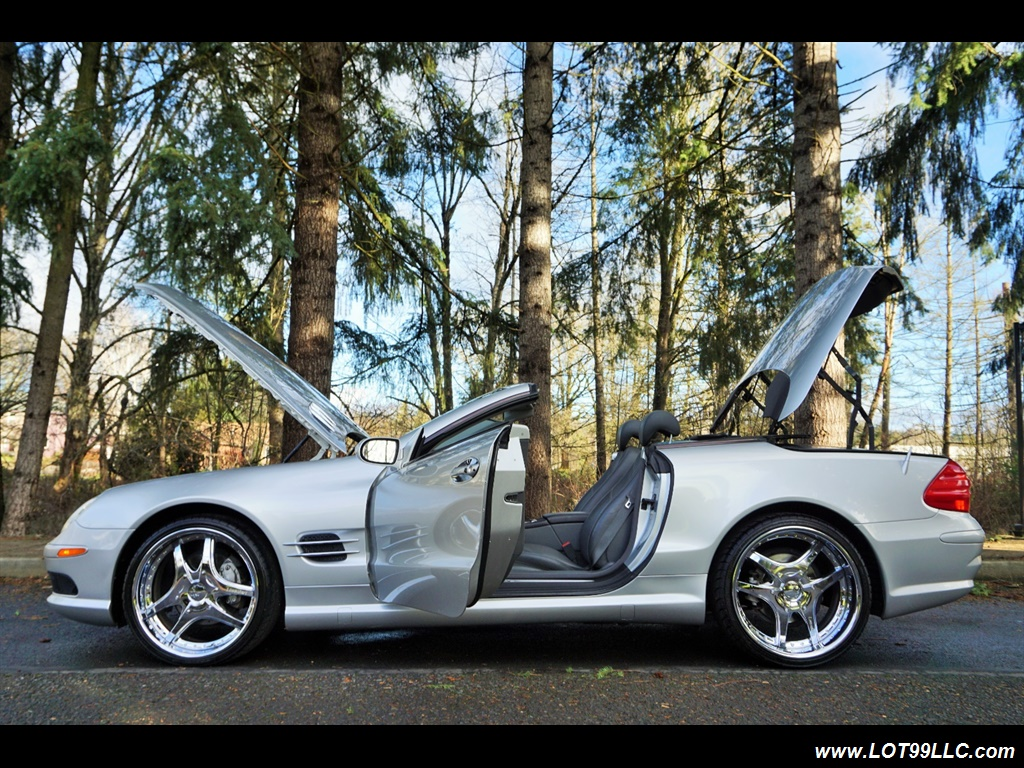 2005 Mercedes-Benz SL 500 Hard Top Convertible 61K Mint - Photo 35 - Milwaukie, OR 97267