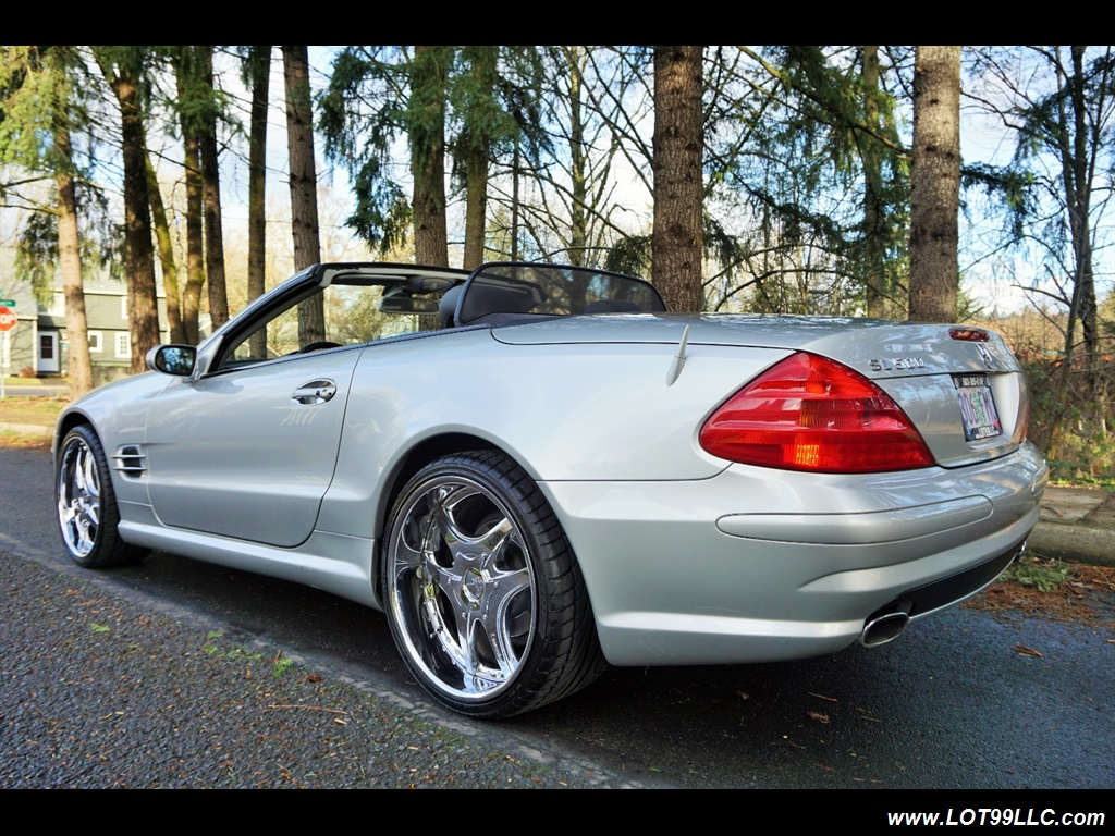 2005 Mercedes-Benz SL 500 Hard Top Convertible 61K Mint - Photo 8 - Milwaukie, OR 97267