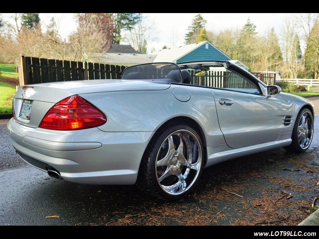 2005 Mercedes-Benz SL 500 Hard Top Convertible 61K Mint - Photo 30 - Milwaukie, OR 97267