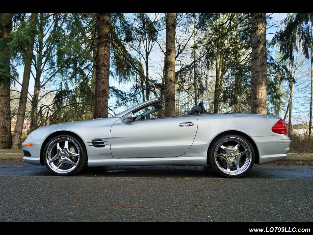 2005 Mercedes-Benz SL 500 Hard Top Convertible 61K Mint - Photo 25 - Milwaukie, OR 97267