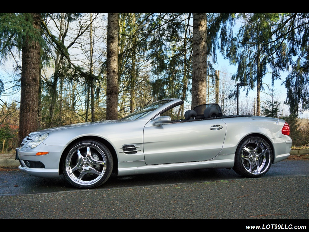 2005 Mercedes-Benz SL 500 Hard Top Convertible 61K Mint - Photo 2 - Milwaukie, OR 97267