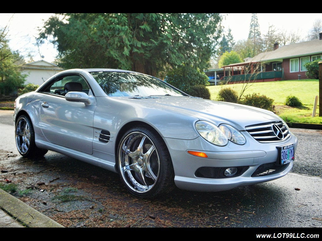 2005 Mercedes-Benz SL 500 Hard Top Convertible 61K Mint - Photo 4 - Milwaukie, OR 97267