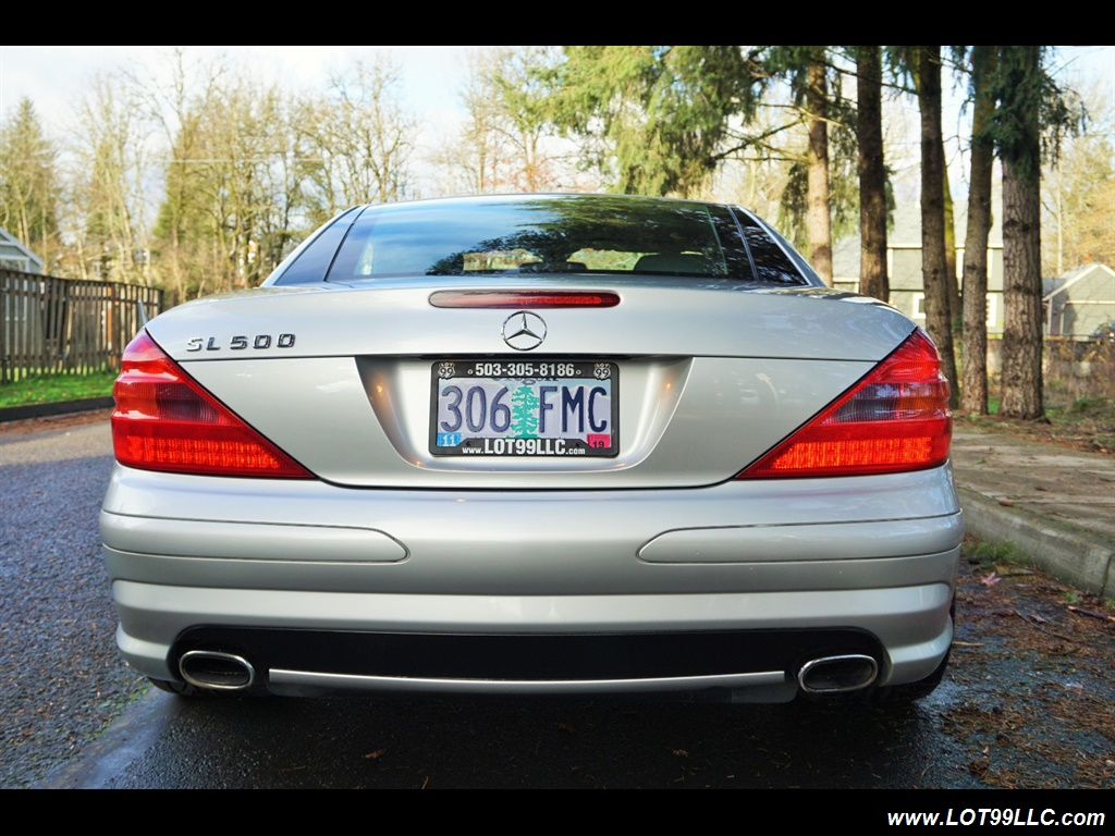 2005 Mercedes-Benz SL 500 Hard Top Convertible 61K Mint - Photo 7 - Milwaukie, OR 97267