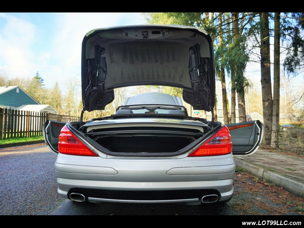 2005 Mercedes-Benz SL 500 Hard Top Convertible 61K Mint - Photo 38 - Milwaukie, OR 97267