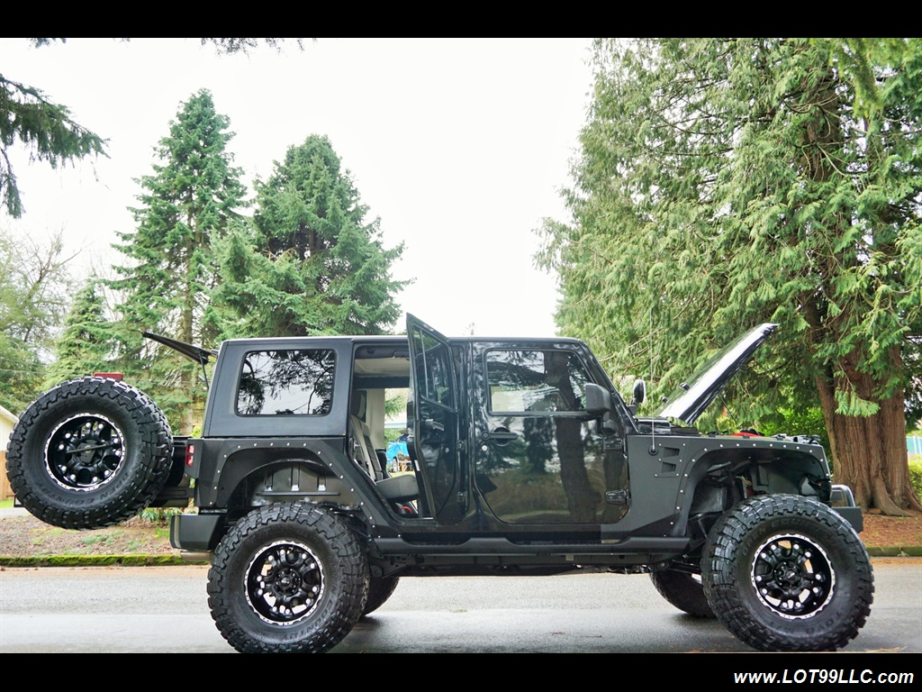 2008 Jeep Wrangler Unlimited 4X4 Lifted Winch  37S - Photo 29 - Milwaukie, OR 97267