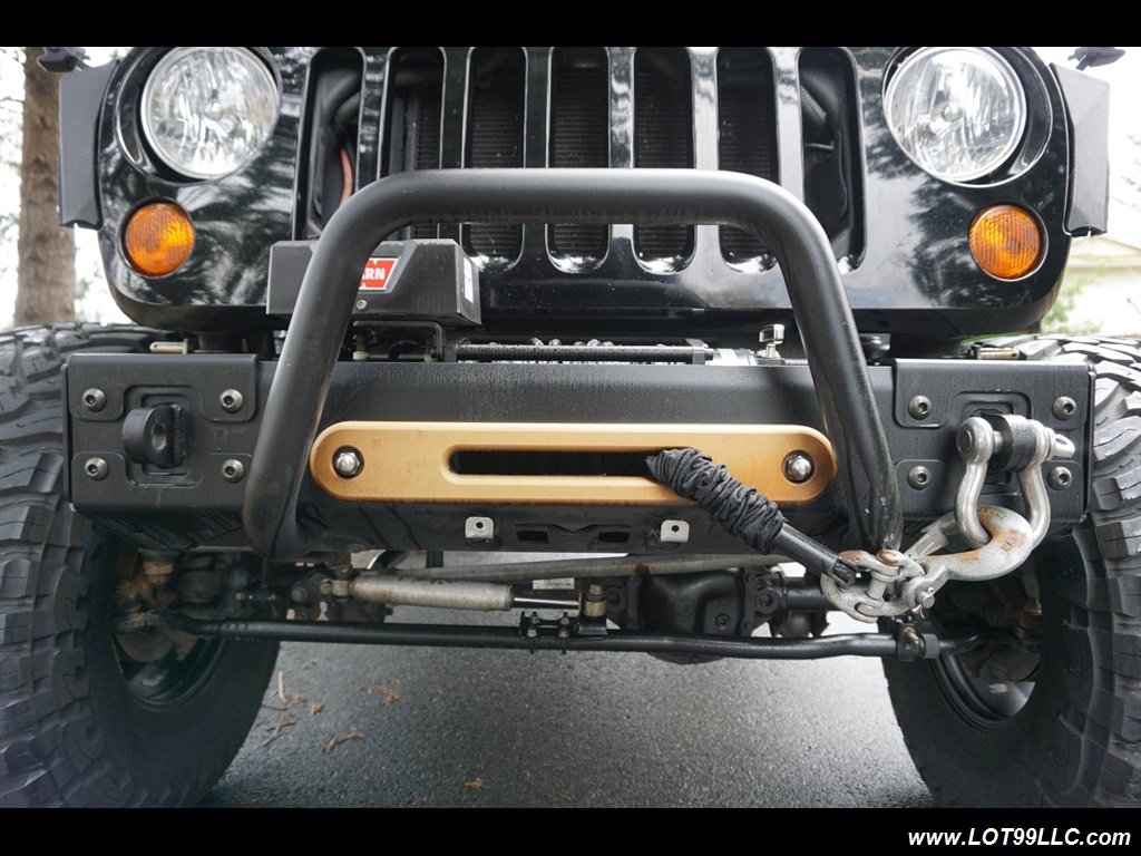 2008 Jeep Wrangler Unlimited 4X4 Lifted Winch  37S - Photo 21 - Milwaukie, OR 97267