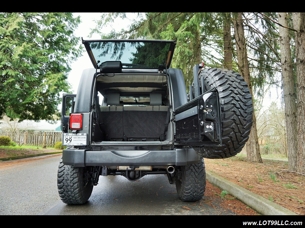 2008 Jeep Wrangler Unlimited 4X4 Lifted Winch  37S - Photo 30 - Milwaukie, OR 97267
