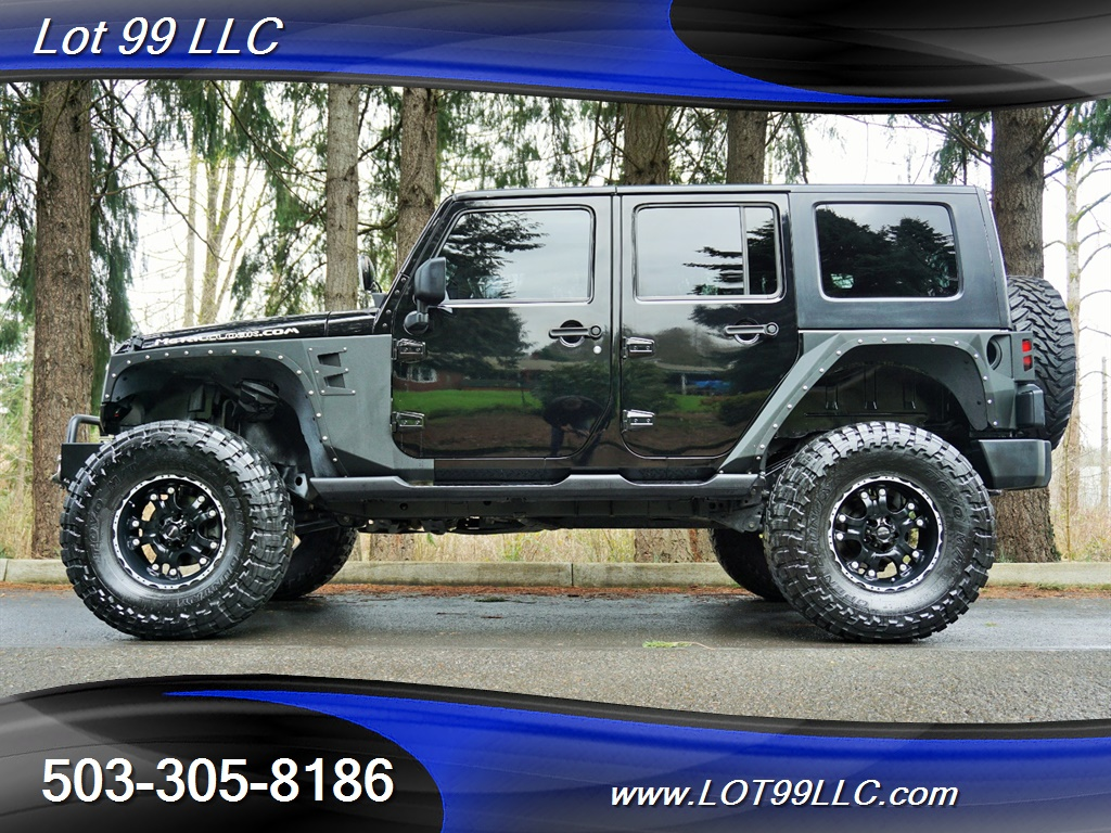 2008 Jeep Wrangler Unlimited 4X4 Lifted Winch  37S - Photo 1 - Milwaukie, OR 97267