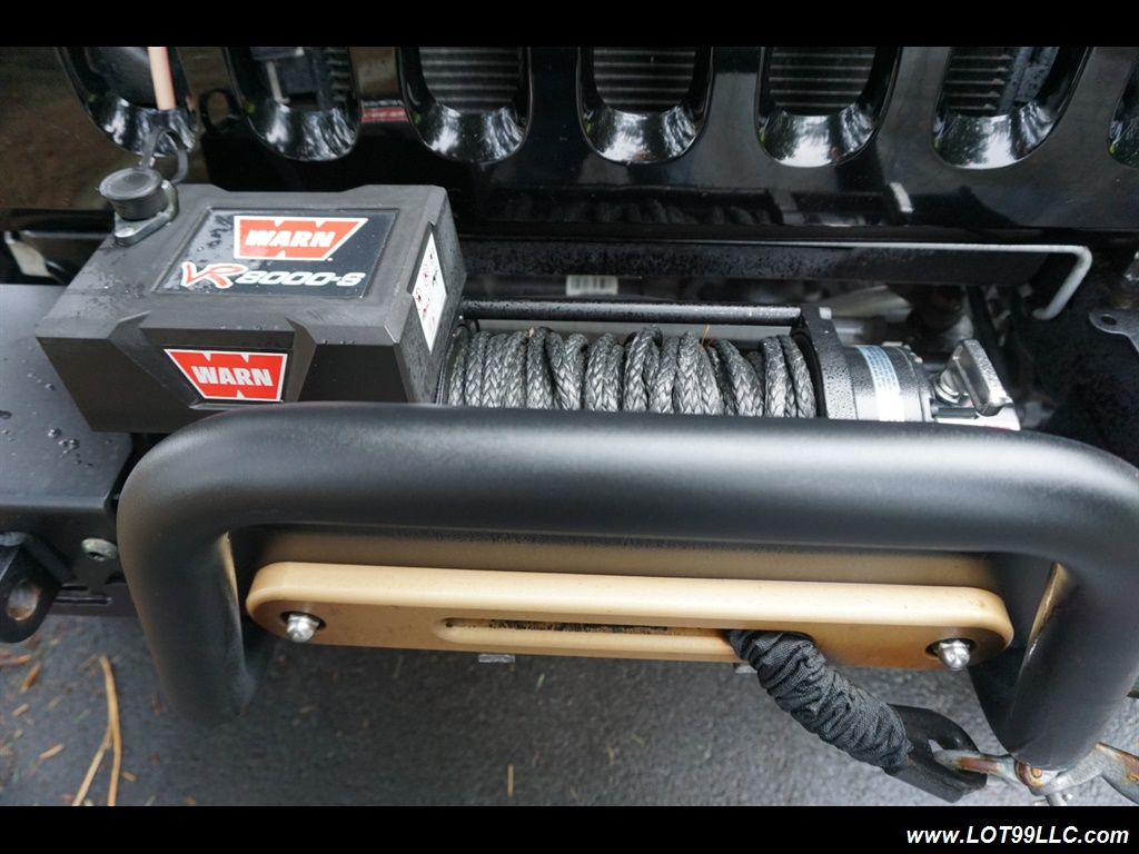 2008 Jeep Wrangler Unlimited 4X4 Lifted Winch  37S - Photo 19 - Milwaukie, OR 97267