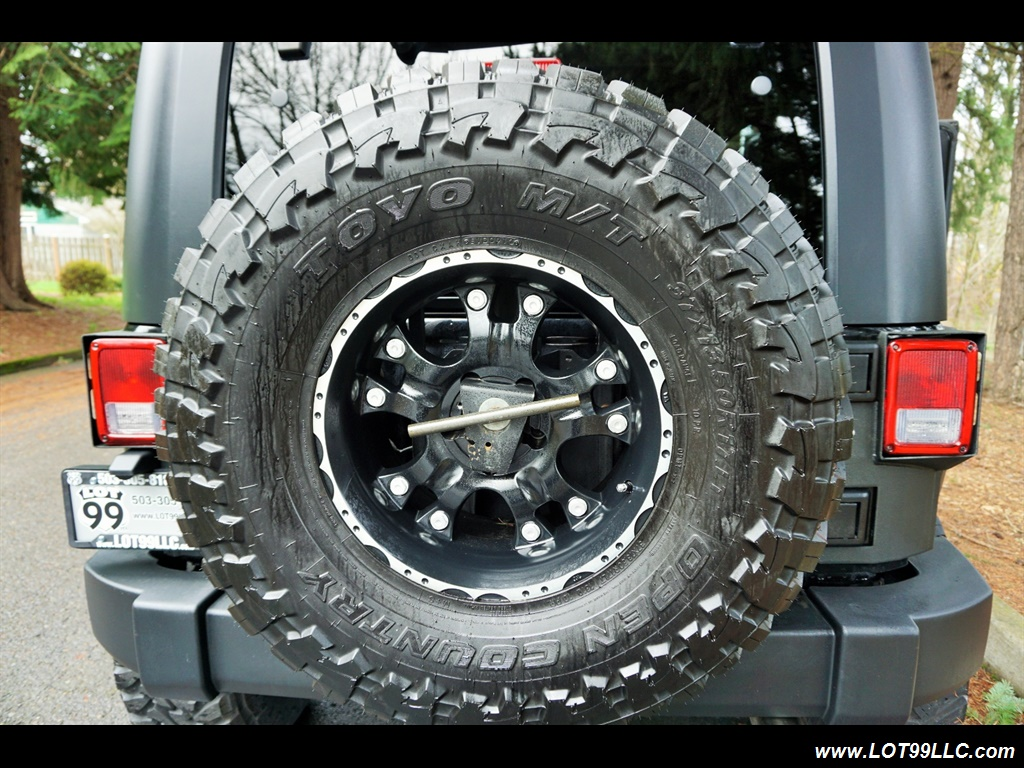 2008 Jeep Wrangler Unlimited 4X4 Lifted Winch  37S - Photo 33 - Milwaukie, OR 97267