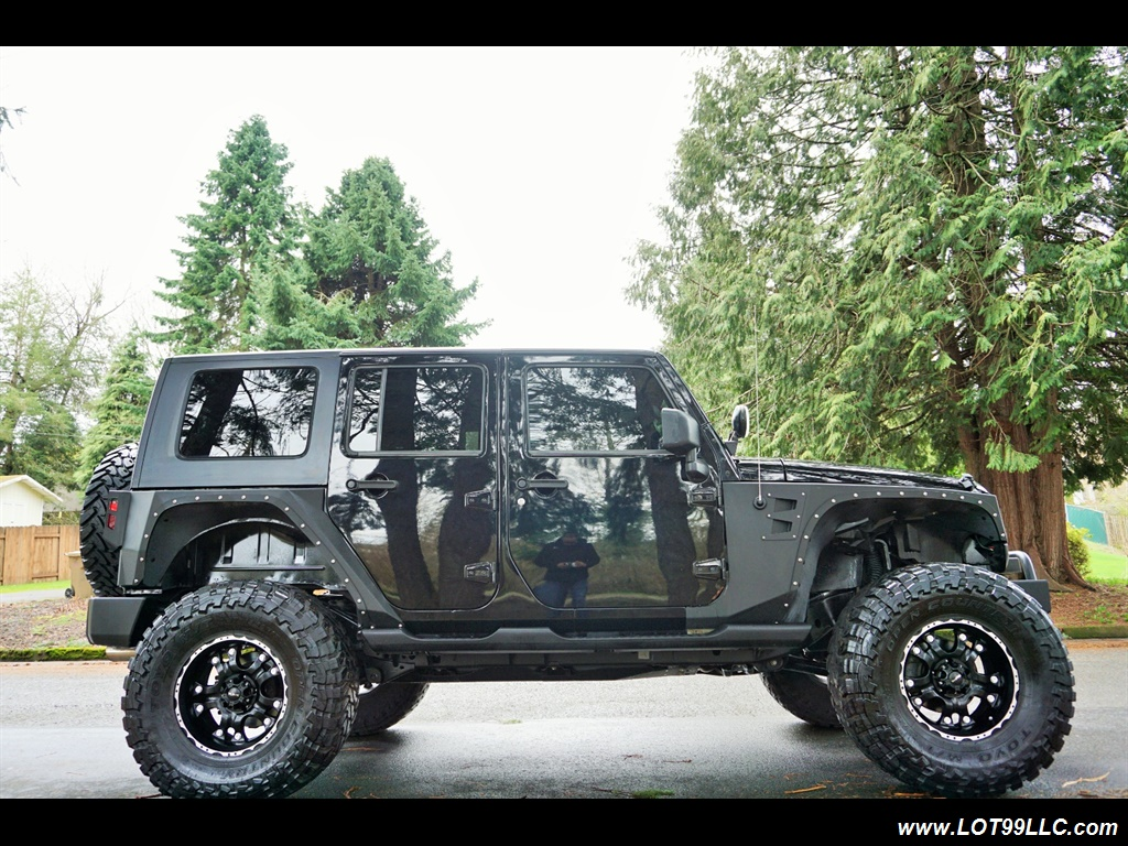 2008 Jeep Wrangler Unlimited 4X4 Lifted Winch  37S - Photo 5 - Milwaukie, OR 97267