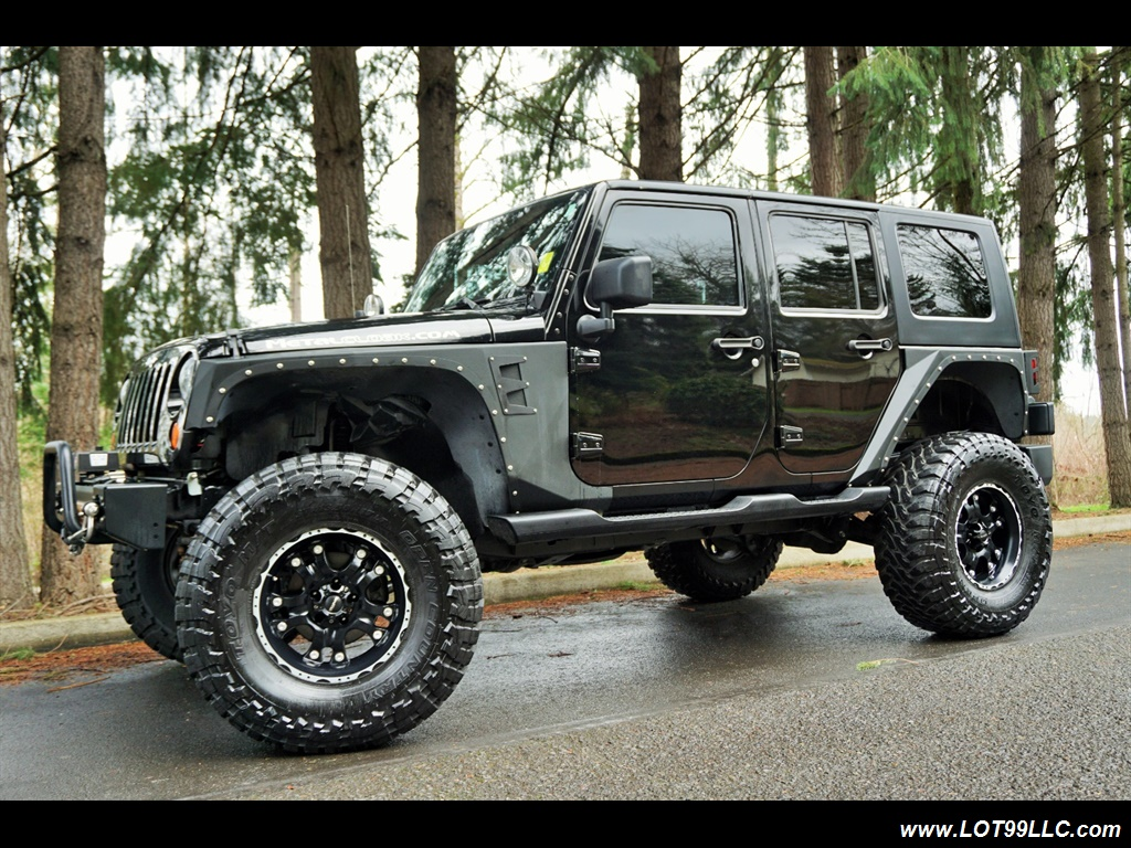2008 Jeep Wrangler Unlimited 4X4 Lifted Winch  37S - Photo 2 - Milwaukie, OR 97267