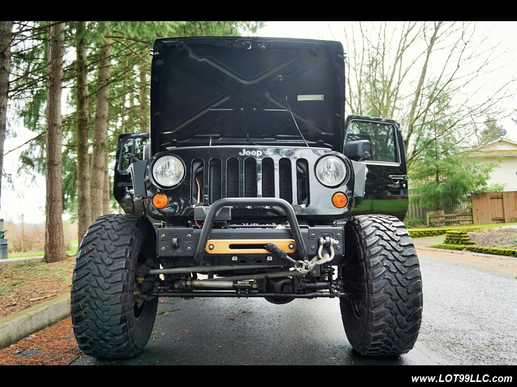 2008 Jeep Wrangler Unlimited 4X4 Lifted Winch  37S - Photo 28 - Milwaukie, OR 97267