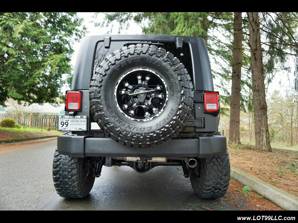 2008 Jeep Wrangler Unlimited 4X4 Lifted Winch  37S - Photo 7 - Milwaukie, OR 97267