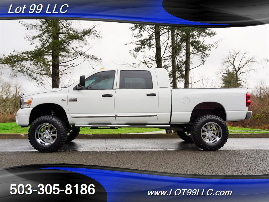 2007 Dodge Ram 2500 Laramie 4dr Mega Cab 4x4 Dvd For Sale