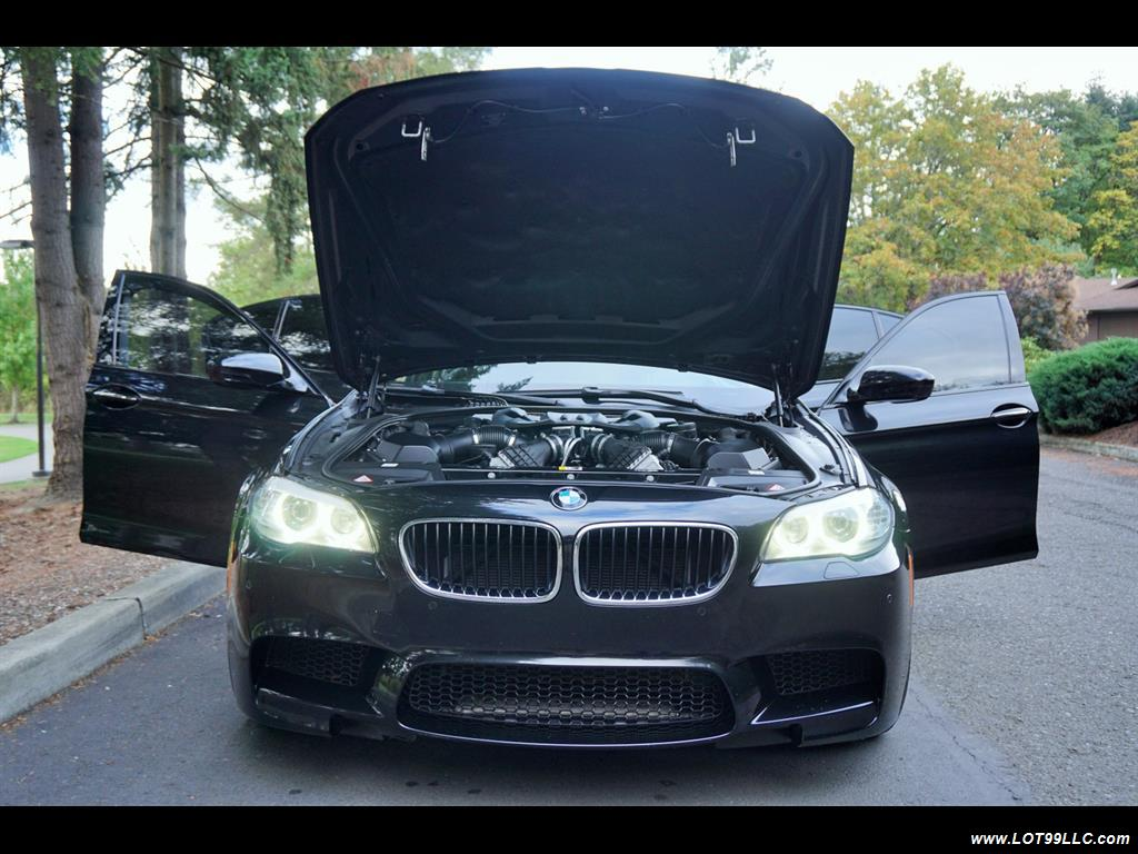 2013 BMW M5 560 HP Twin Turbo Black On Black Loaded. - Photo 33 - Milwaukie, OR 97267