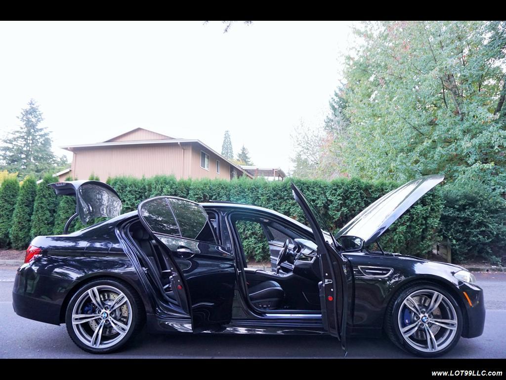 2013 BMW M5 560 HP Twin Turbo Black On Black Loaded. - Photo 34 - Milwaukie, OR 97267