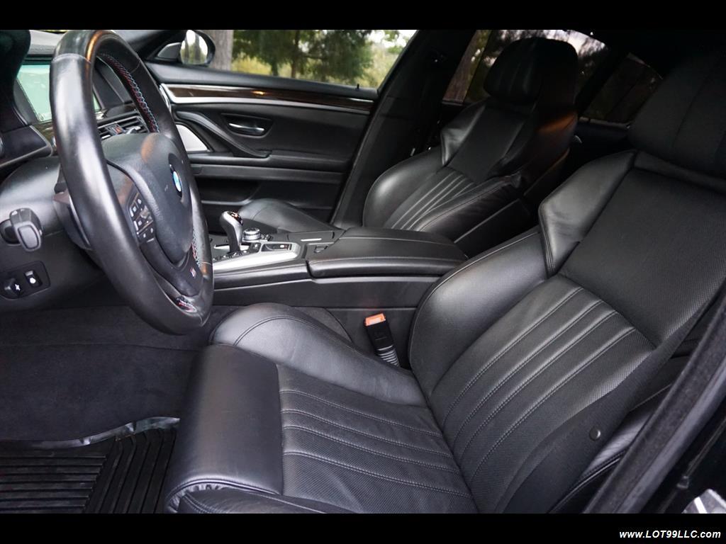 2013 BMW M5 560 HP Twin Turbo Black On Black Loaded. - Photo 12 - Milwaukie, OR 97267