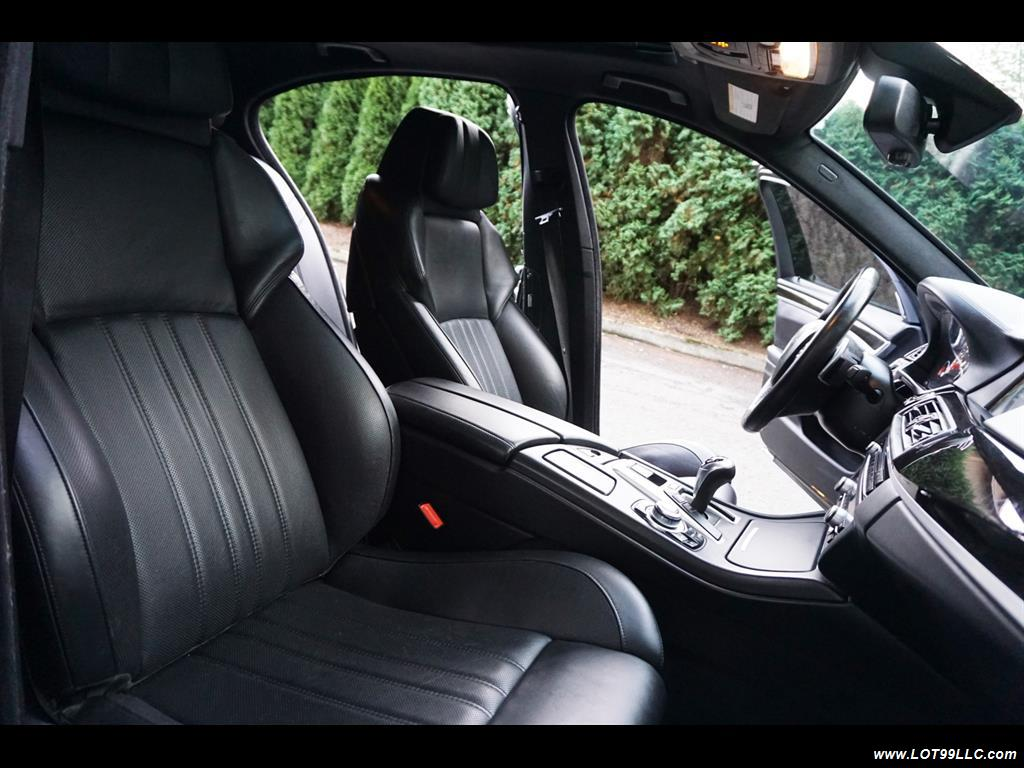 2013 BMW M5 560 HP Twin Turbo Black On Black Loaded. - Photo 18 - Milwaukie, OR 97267