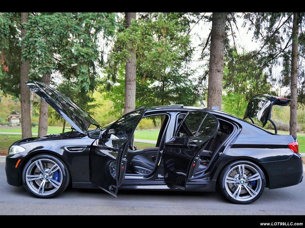 2013 BMW M5 560 HP Twin Turbo Black On Black Loaded. - Photo 32 - Milwaukie, OR 97267