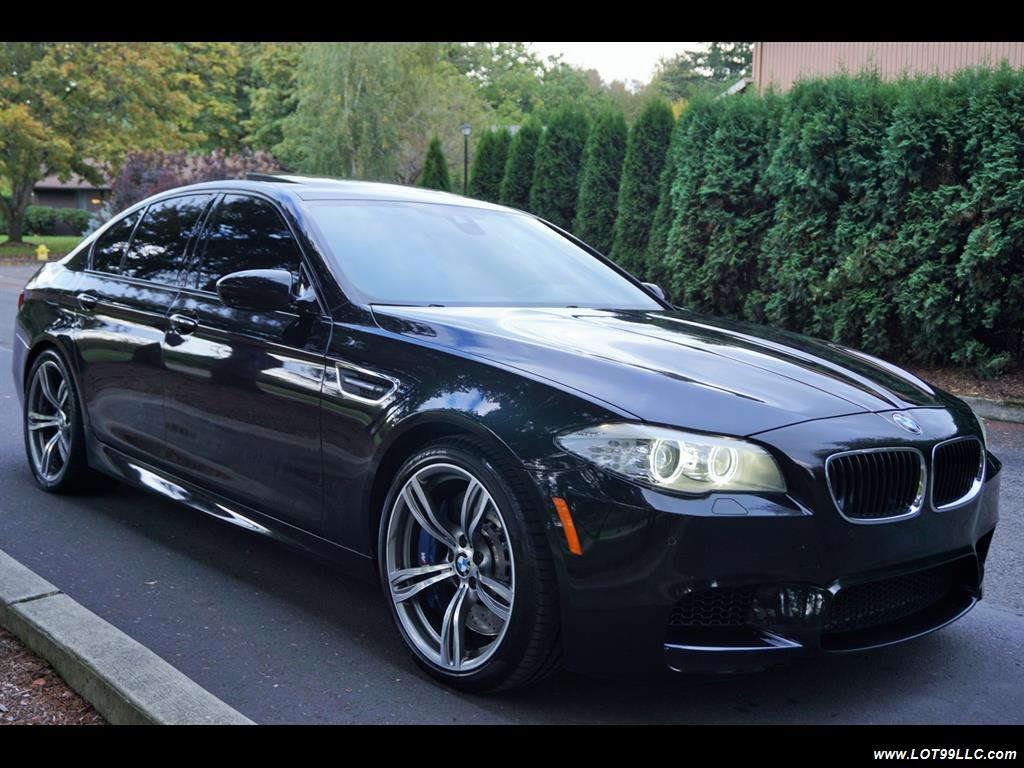 2013 BMW M5 560 HP Twin Turbo Black On Black Loaded. - Photo 4 - Milwaukie, OR 97267