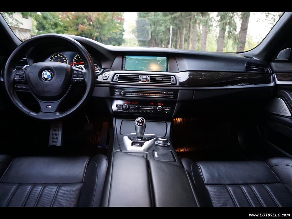 2013 BMW M5 560 HP Twin Turbo Black On Black Loaded. - Photo 9 - Milwaukie, OR 97267